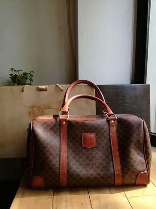 正品經典 Celine boston bag vintage 古董波士頓包