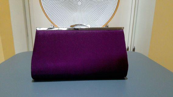 🚚 國外帶回紫色手握、肩背小包