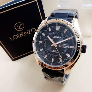 Lorenzo 1050 Jam Tangan Formal Pria