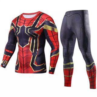 Super hero long sleeve and pants