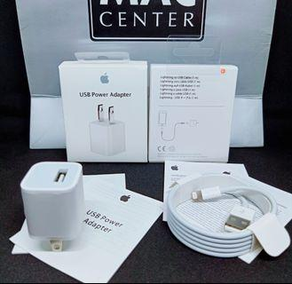 Apple 5W and lightning cable charger set LIMITED price offer