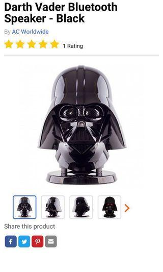 Star Wars Darth Vader 1:1 Bluetooth speaker