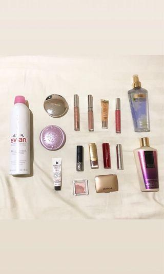 #prelovedwithlove Total 16 Items (Makeup + Skincare + Others)