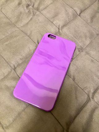 🚚 紫色亮面手機殼