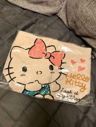 🚚 Hello kitty 帆布手提袋