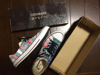 Authentic Converse x Andy Warhol