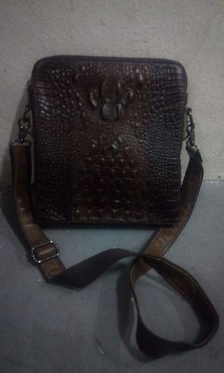 🚚 Crocodle skin slingbag