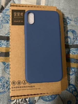 iphone x 液態硅膠手機殼