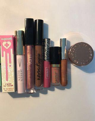 LIP BUNDLE - ALL AUTHENTIC NEW AND USED