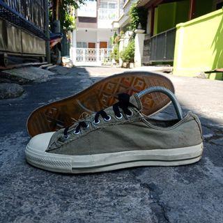 Converse x john Varvatos moss Green slip-on