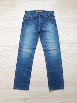 Uniqlo s-002 stonewash denim jeans