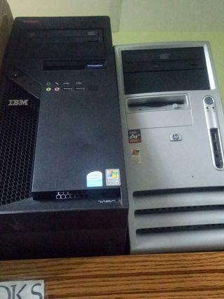 🚚 Spoilt IBM and HP CPU - price for both