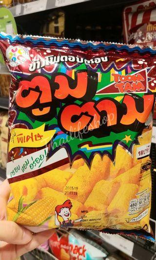 ❤Toom Tam 粟米脆脆卷91g 🇹🇭泰國代購  $20包/$36兩包