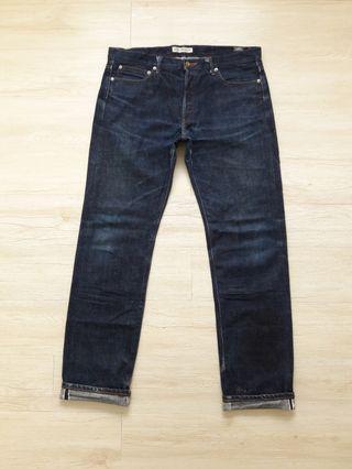 Beams selvedge denim jeans