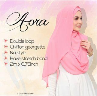 Double Loop Instant Shawl