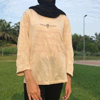 White knitwear shirt