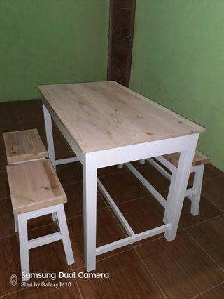 Set meja kursi kafe/warung makan
