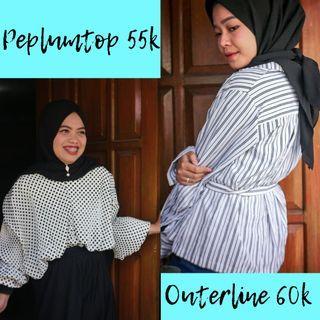 Outer dan blouse