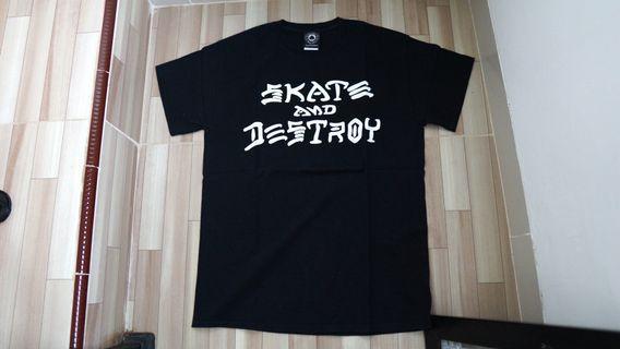 Thrasher Skate And Destroy T-Shirt (black) original