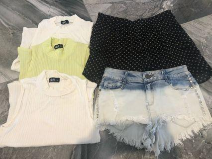 Clothing bundle size XS lot for $30