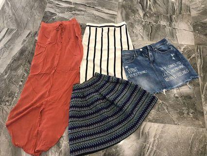 Skirt size 8 bundle