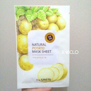 The Saem Potato Mask Sheet