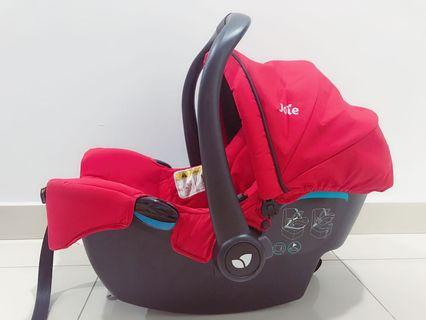 Joie carrier car seat
