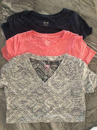 3x mossimo XS t-shirts all for $30