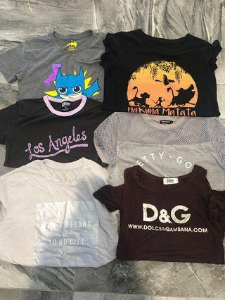 Bulk Mixed t-shirts all for $20