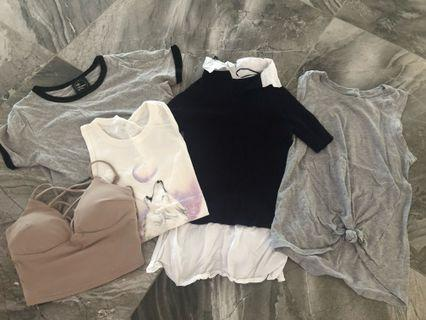 Mixed tops bundle all for $25
