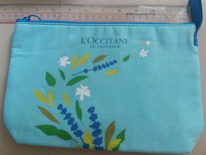 L'OCCITANE  cosmetic bag