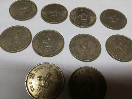 $1 10pc 1973