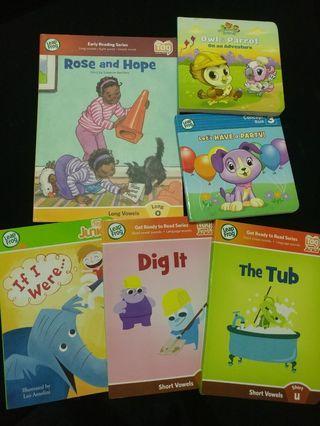 [Clearance/ Sales] Baby/ Kids/ Children Learning/ Story/ Nursery/ Kindergarten Book Sets - Leap Frog Board Book