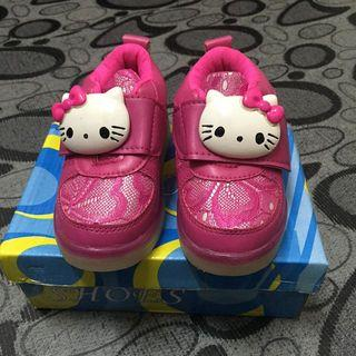"""LED"" HELLO KITTY SPORT SHOES"