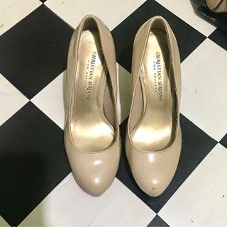 Sepatu Payless High Heels Cream