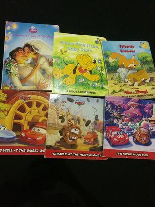 [Clearance/ Sales] Baby/ Kids/ Children Learning/ Story/ Nursery/ Kindergarten Disney Board Book Sets