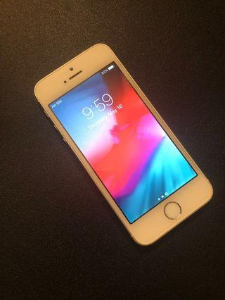 🚚 iPhone 5S 32GB Silver (Cable & Plug Included)