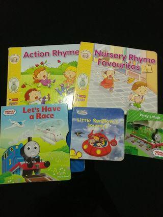 [Clearance/ Sales] Baby/ Kids/ Children Learning/ Story/ Nursery/ Kindergarten Board Book Sets - Robin/ Thomas & Friends/ Disney Little Einsteins