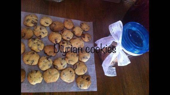 朱古力碎曲奇🍪(chocolate chip cookies) (沒有加工色素)