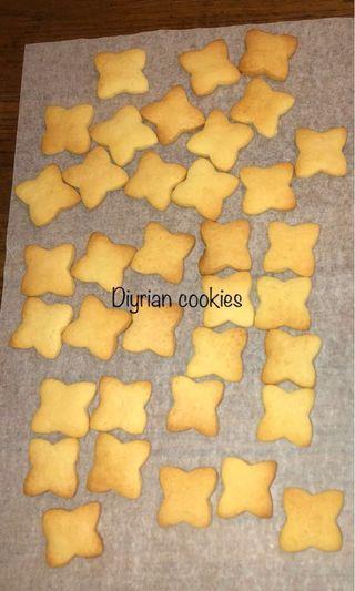 牛油原味 (Butter cookies 🍪)(沒有加工色素)