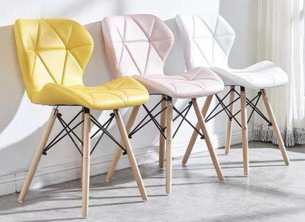 Dining Chair - Blue or Yellow