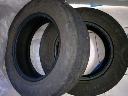 Used Tyre Size R12 Viva/Kancil for sale!