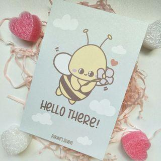 🚚 Beezy - Hello There Postcard