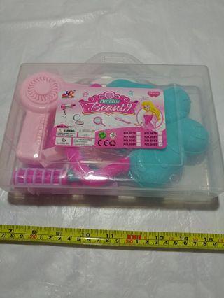 [Clearance/ Sales] Baby/ Kids/ Children Toys/ Birthday Gift/ Present - Make up Play Set - Transparent Box/ Mirror/ Bag/ Lipstick/ Hairdryer etc