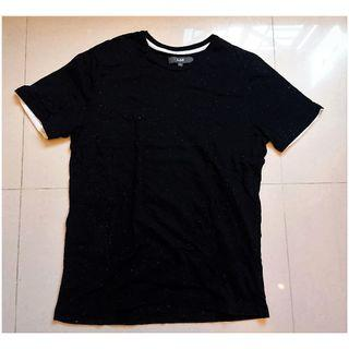 U2 深藍色點紋T-Shirt,大碼 L Size,九成新 90% New
