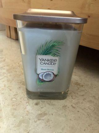 Yankee Candle Large Square Jar - Shore Breeze