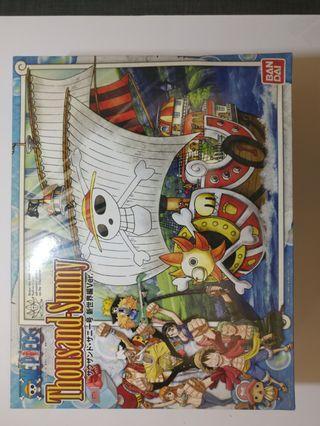 海賊王 模型船