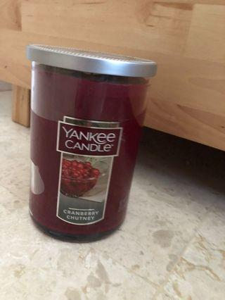 Yankee Candle Large Two-Wick Tumbler - Cranberry Chutney