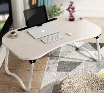全新 現貨 床上電腦桌筆記本 電腦桌 床上用 可折疊 懶人枱 書桌 小桌子 摺枱 床上電腦桌