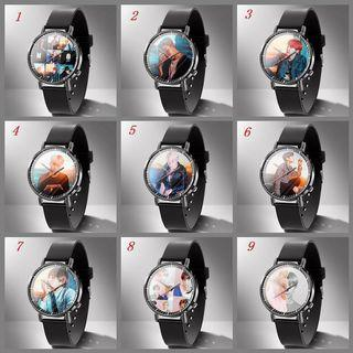 BTS LEATHER WATCH